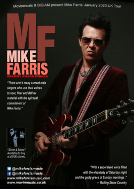Mike Farris 2020 January UK tour