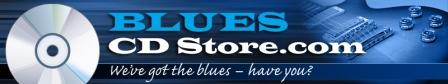 Blues CD Store Banner