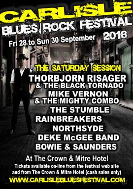 Carlise Blues Rock Festival 2018