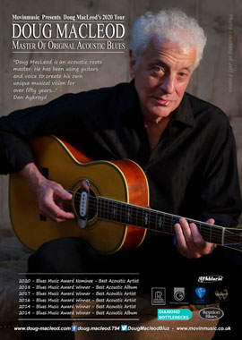 Doug MacLeod March 2020 UK tour