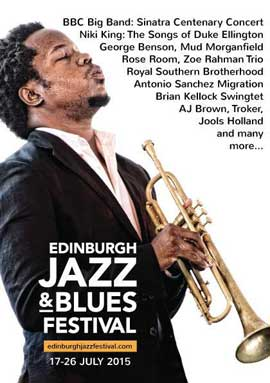 Edinburgh Jazz & Blues Festival 2015
