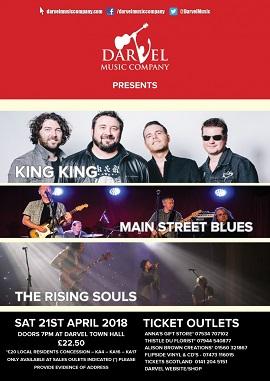 King King Darvel Music Festival 2018