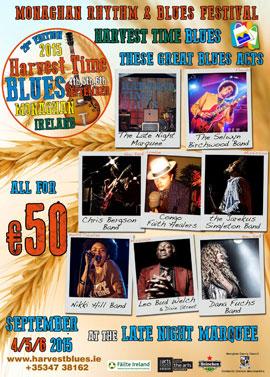 Harvest Blues Festival 2015