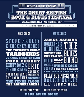Rock and Blues Festival 2017 Skegness