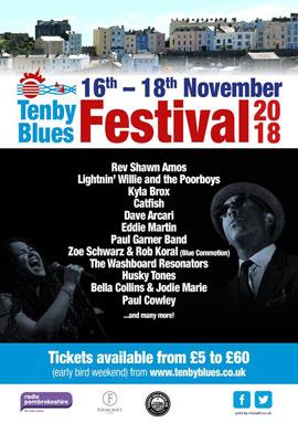 Tenby Blues Festival 2018
