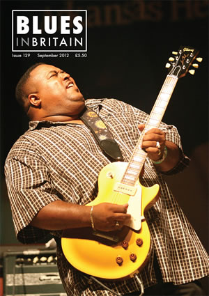 Larry McCray Blues in Britain Magazine 2012 Cover Artist>  </td>             </tr>             <tr>               <td width=