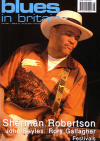 Blues in Britain Cover June 2008